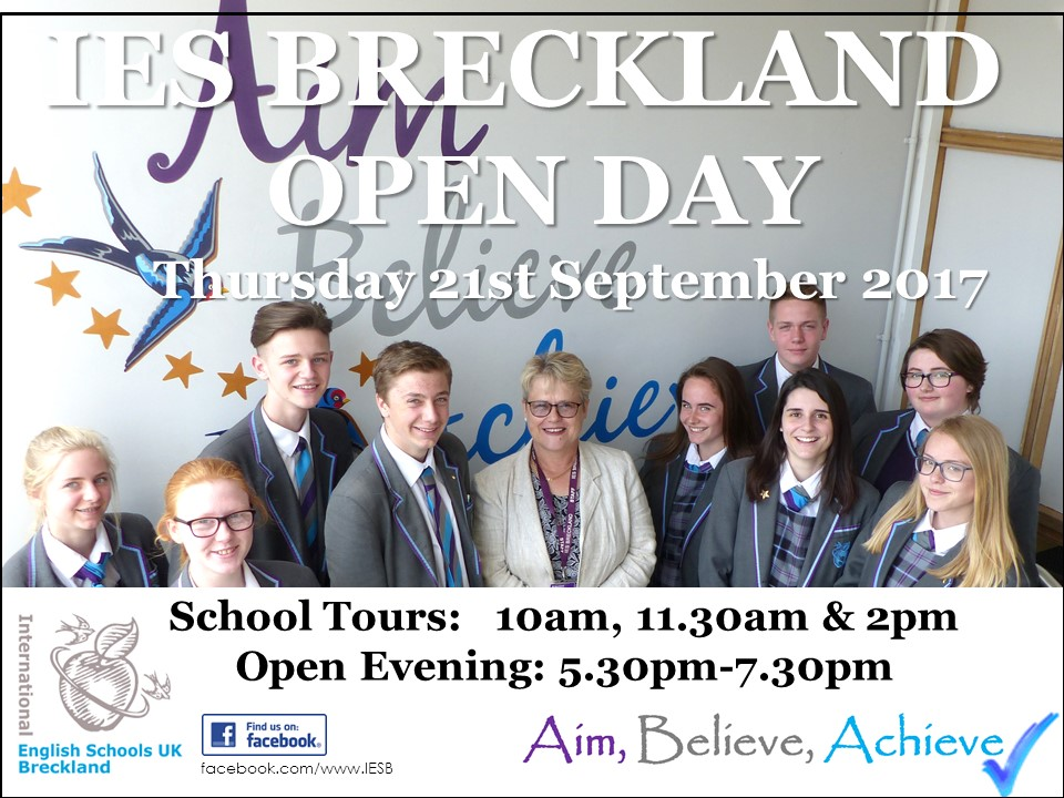 IES Breckland Open Day
