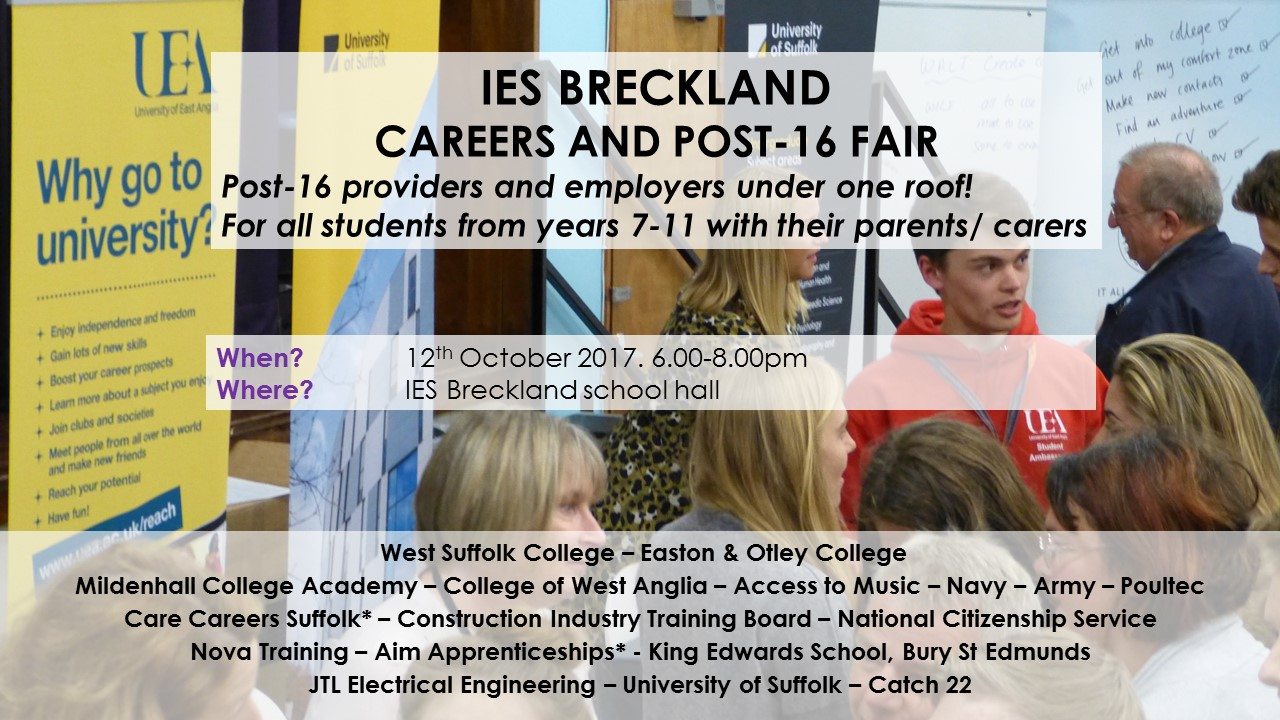 IES Breckland Careers and Post 16 Fair